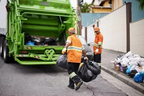 Routine Maintenance Cleaning Sweeping And Collection Of Garbages And Debris